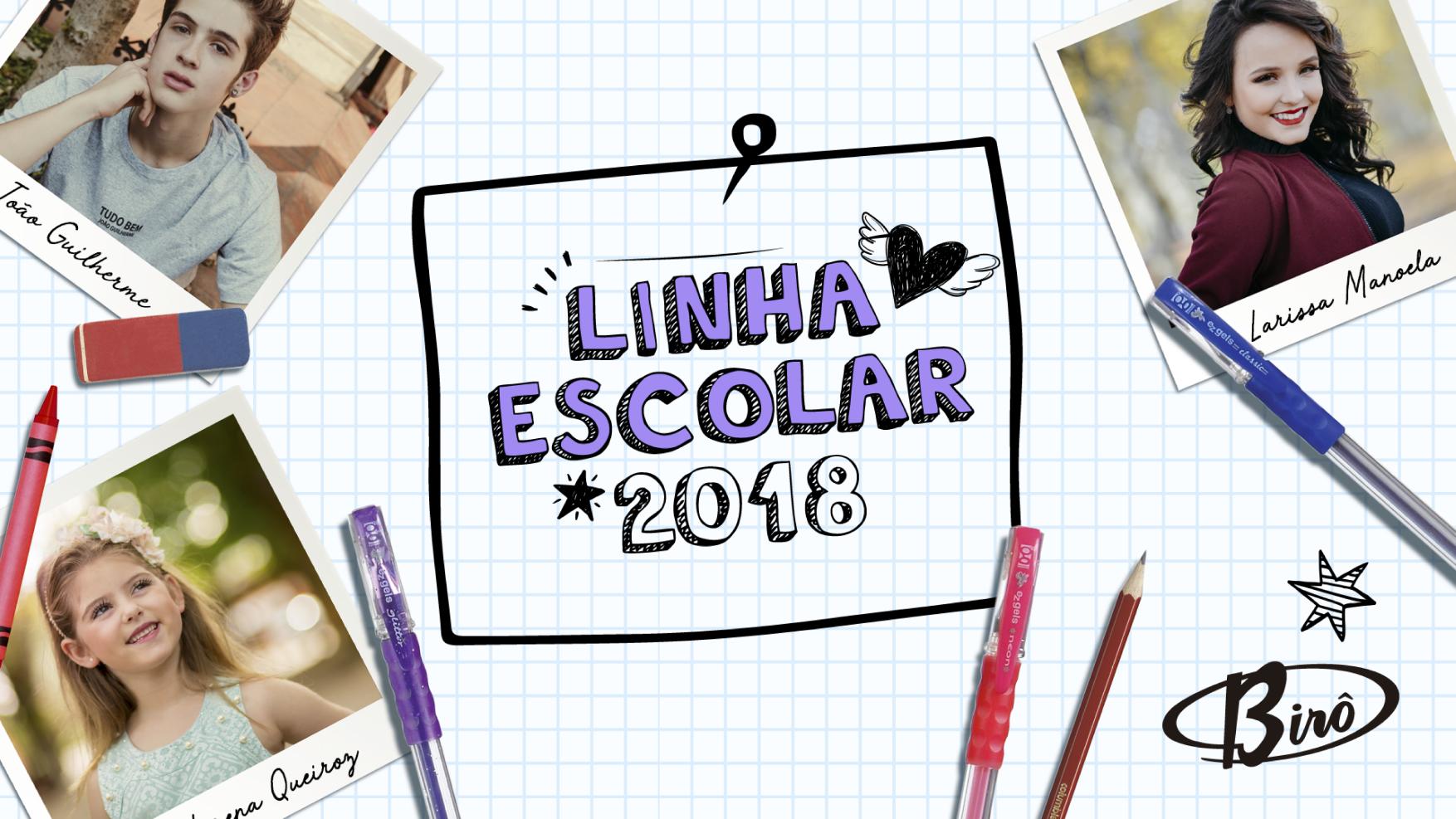 NOVIDADE  LINHA ESCOLAR 2018 Mochilas, lancheiras e estojos oficiais da Larissa  Manoela, Lorena 1f96406c37