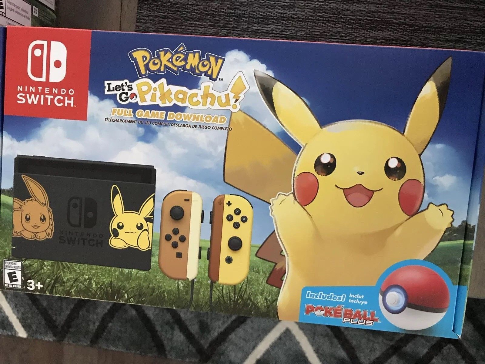 Details About Nintendo Switch Pokemon Let S Go Eevee And Let S Go
