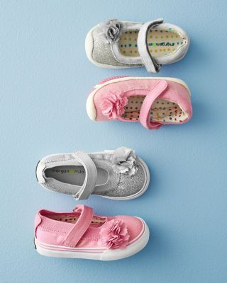 Morgan & Milo Sparkle Mary Janes - Sizes 6 mos.-13