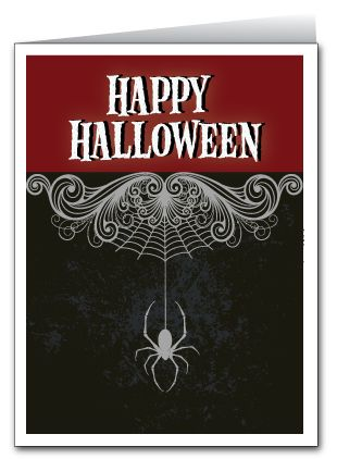 spider halloween greeting card halloween spider halloween cards free printables greeting cards