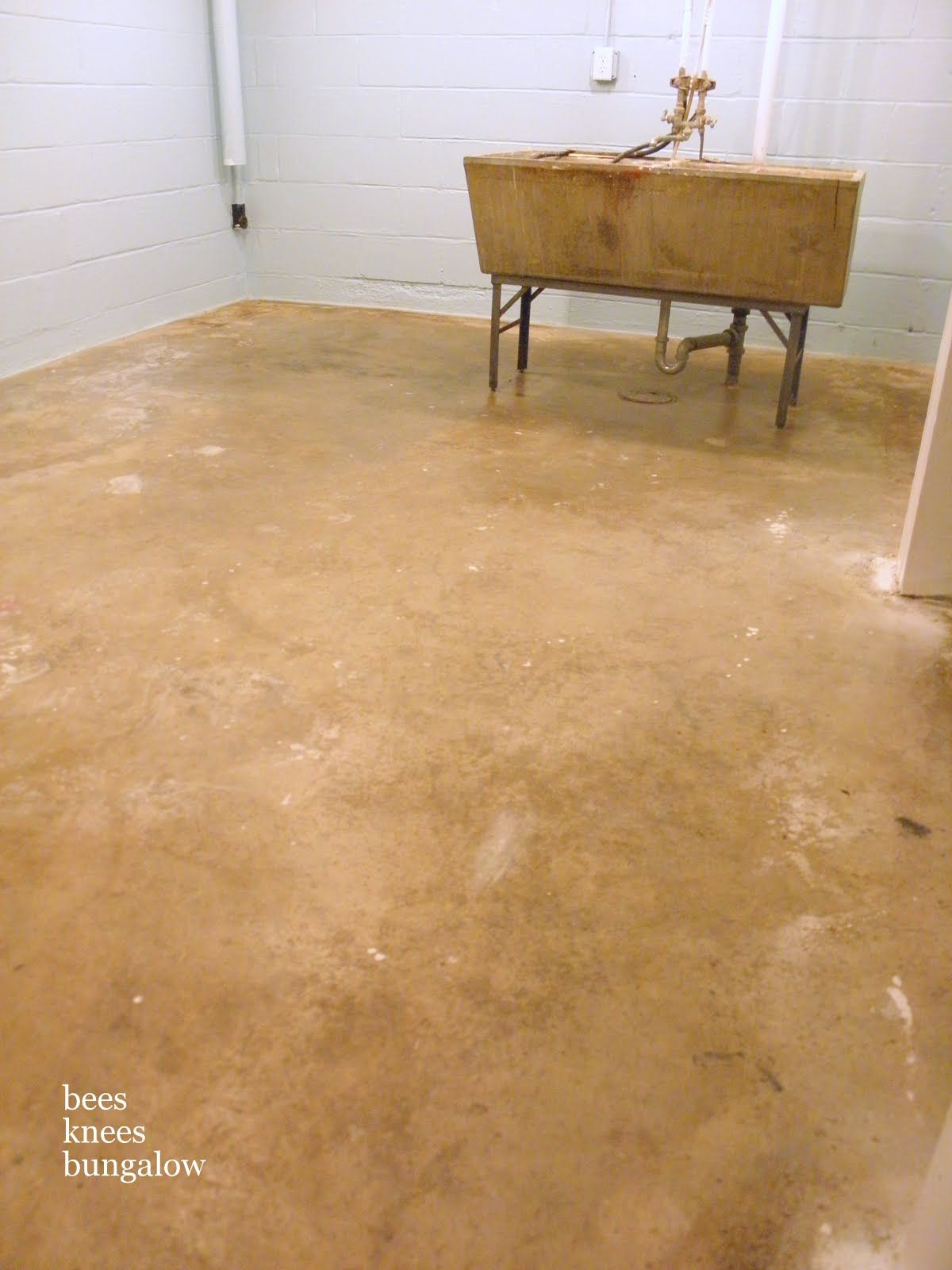 Inspirational Refinishing Basement Floor