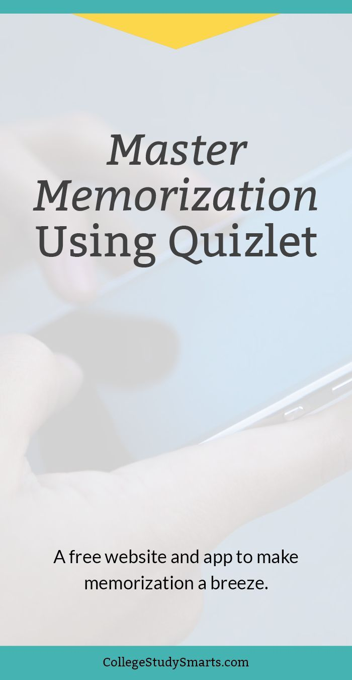 Master Terminology Using Quizlet for Memorization How to