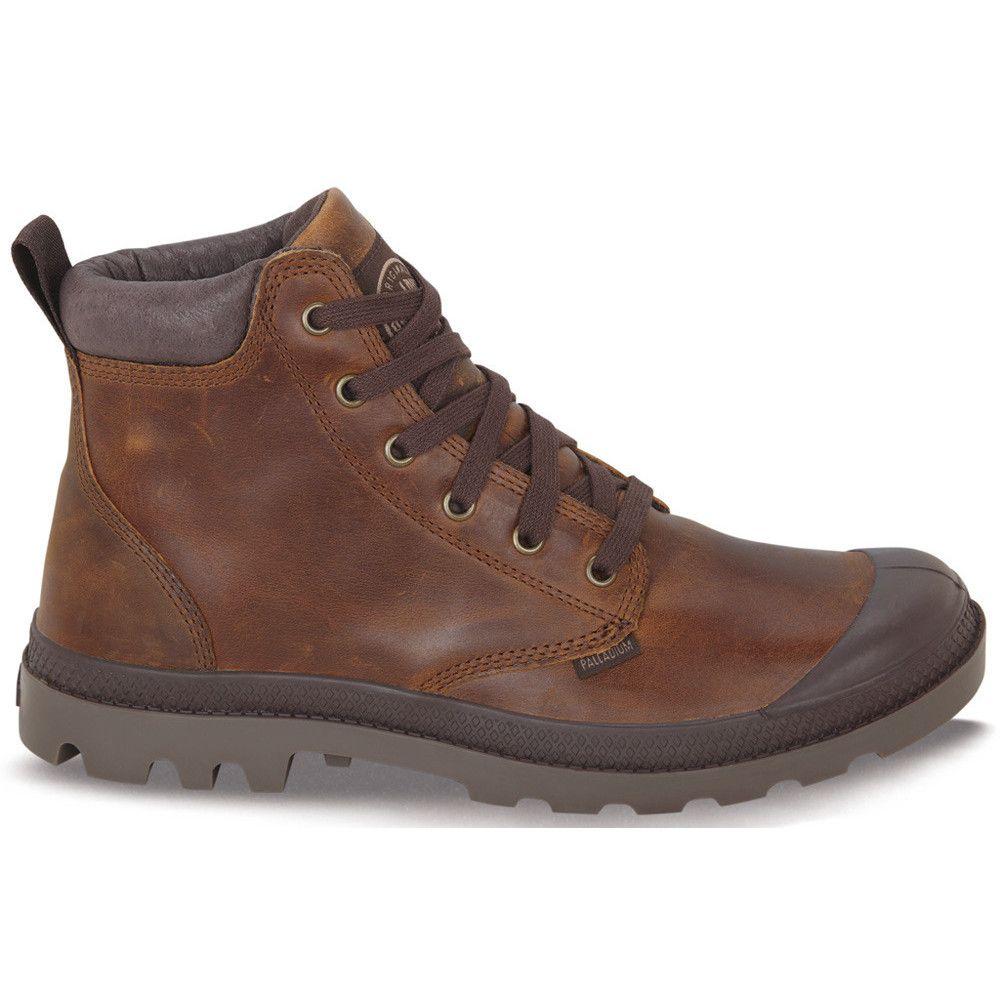 Men s Palladium  Pampa Hi Cuff Leather  Boot in SunriseChocolate Canada  online at