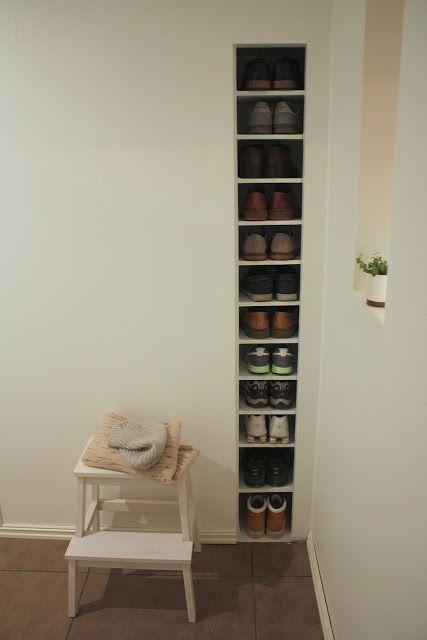 Shoe Storage Ideas At Front Door