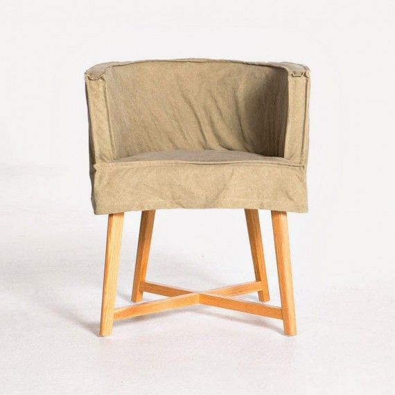 Grant Arm Chair by Evolution - Mocha - Seating - Living | HD Buttercup Online