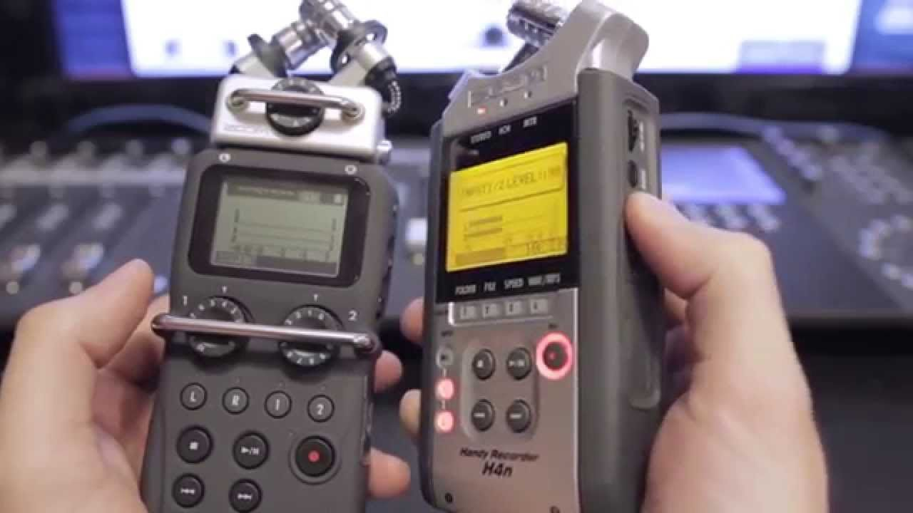 Zoom H5 feature overview (and comparison to H4n) | Music - Recording
