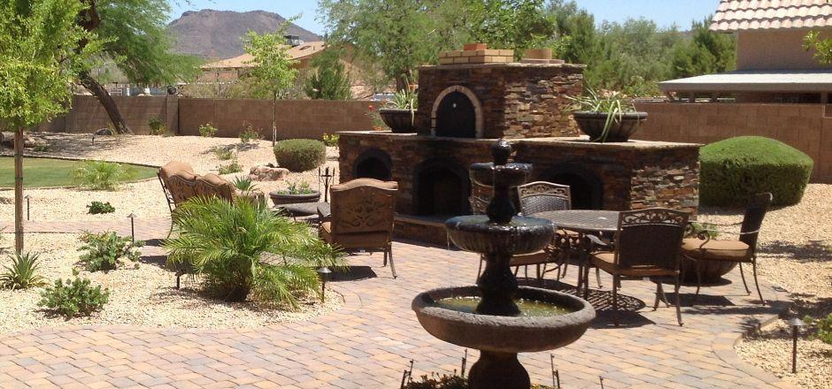 AZ Desert Landscaping Ideas Back Yard