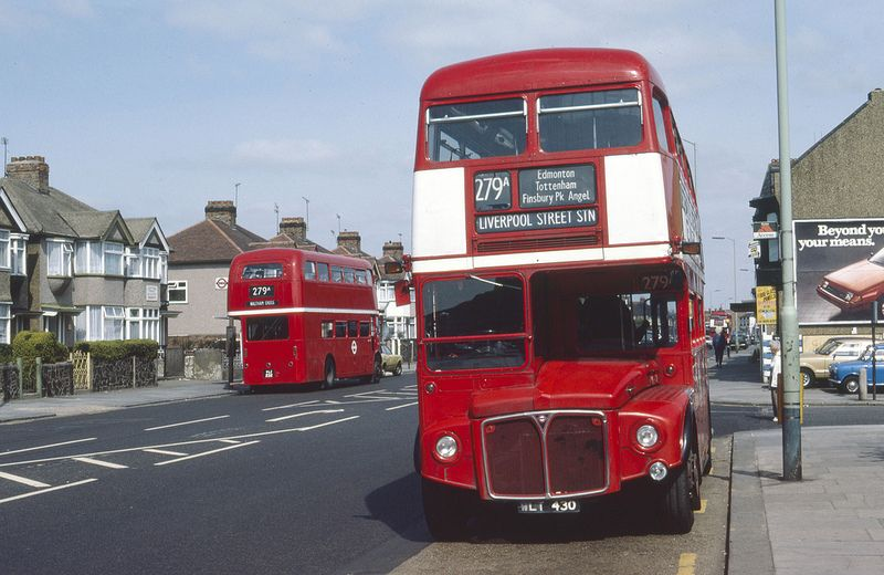 Lt Routemasters Rm430 Rm232 London Bus Bus Coach Red Bus