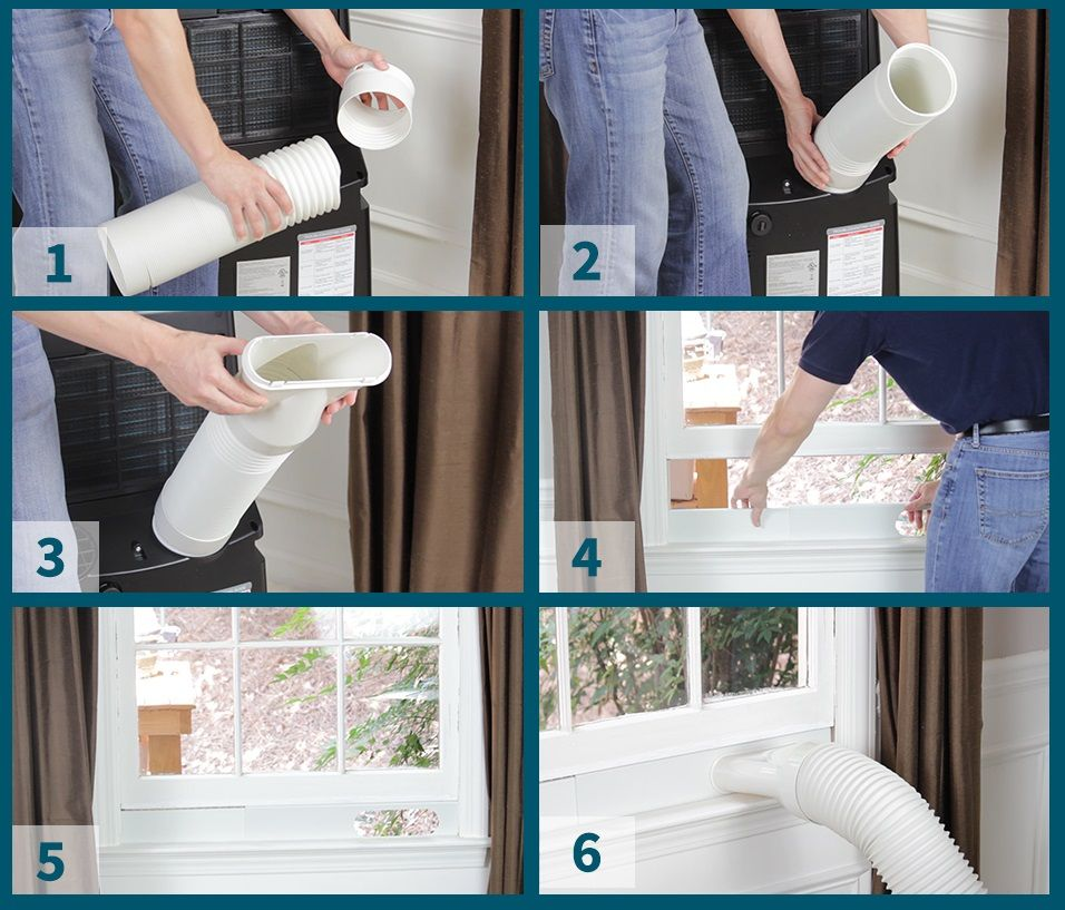 How To Vent A Portable Air Conditioner Portable Air Conditioner