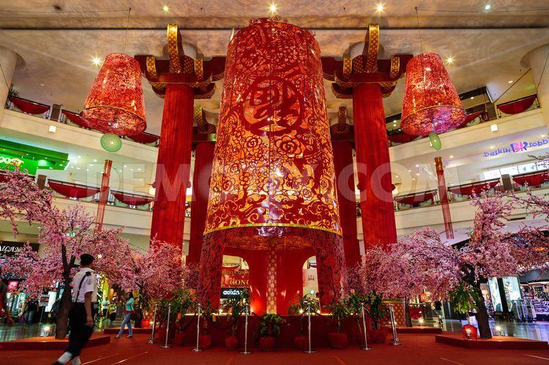 Shopping Mall Lunar New Year Decoration   Tìm Với Google