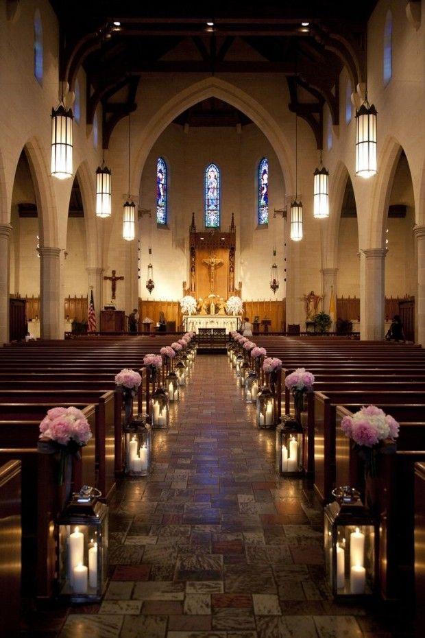 adornos florales para la iglesia preciosas ideas
