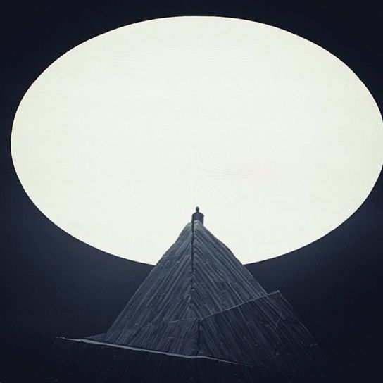 Yeezus tour (designed by Family)... I'm totally feeling the Robert Wilson sense of scale.