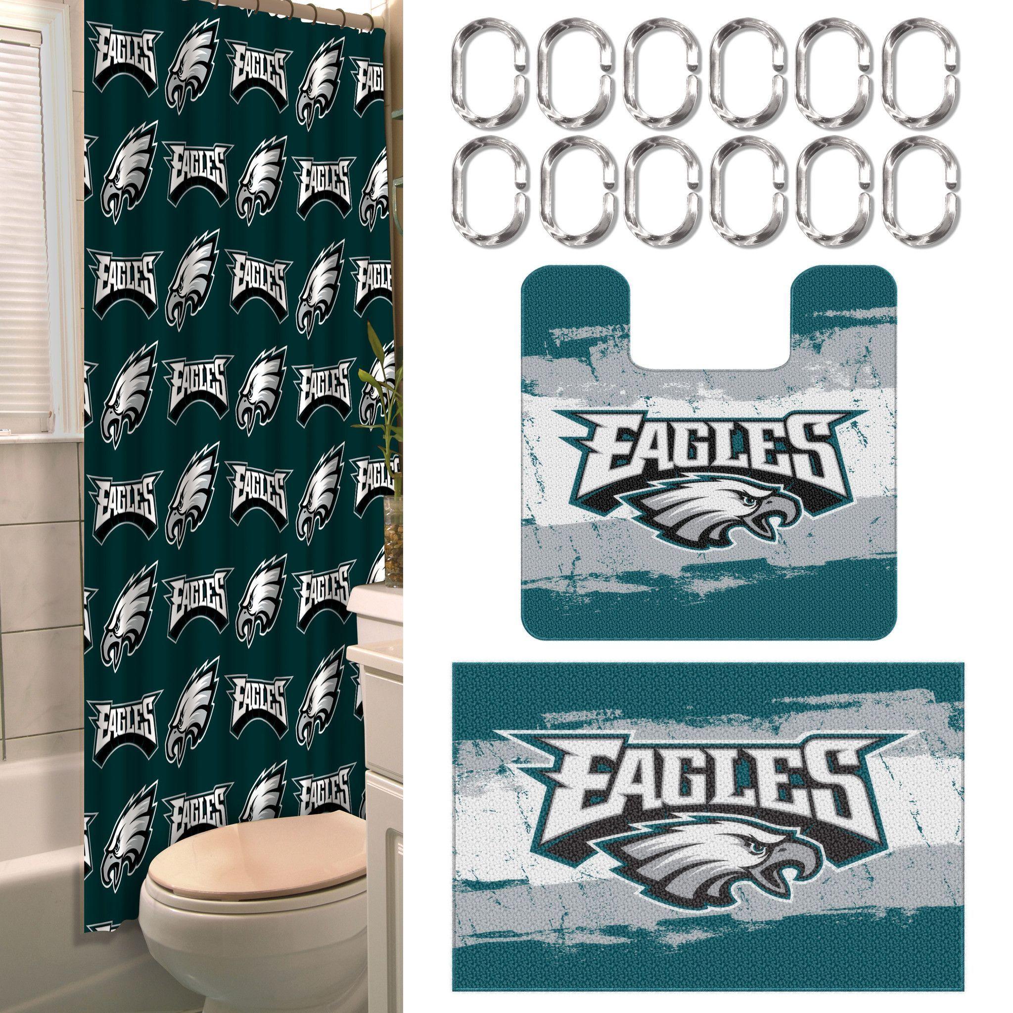 Philadelphia Eagles 15 Piece Bath Set