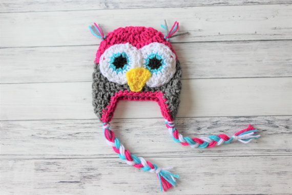 How To Knit A Baby Owl Hat
