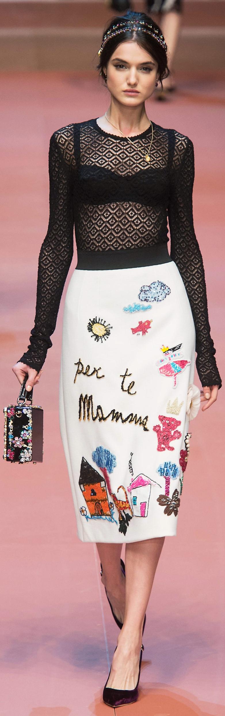 Dolce & Gabbana RTW Fall 2015