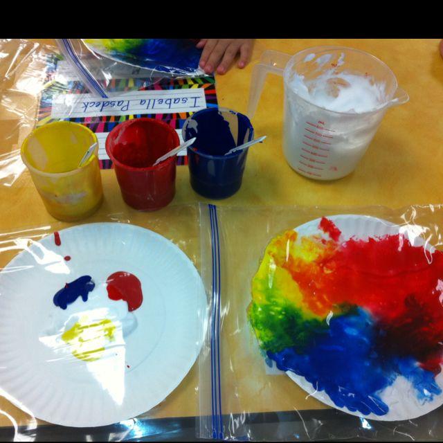 Mouse Paint Color Activities