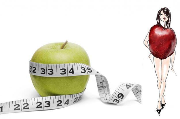 La dieta para un cuerpo tipo manzana