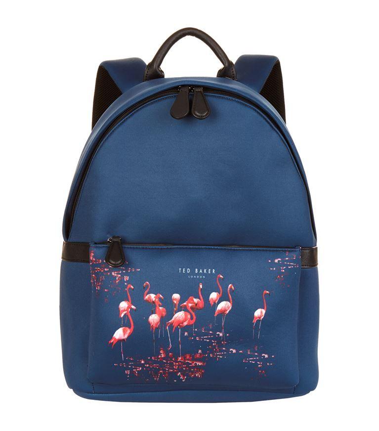 ted baker flamingo neoprene backpack tedbaker bags. Black Bedroom Furniture Sets. Home Design Ideas