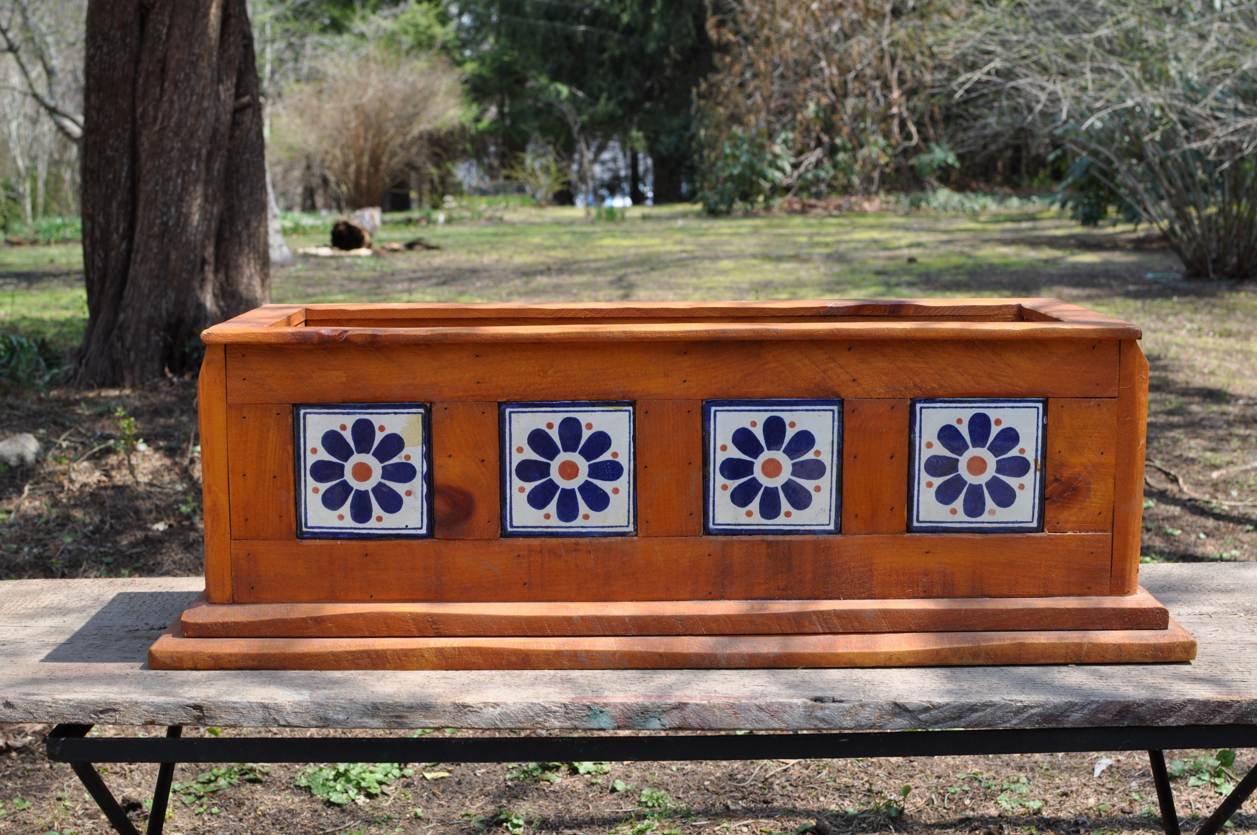 Mexican Talavera Tile Planter Window planters