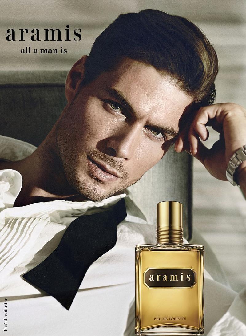 Aramis Fragrance Campaign Starring Sahib Faber Ad Inspiration