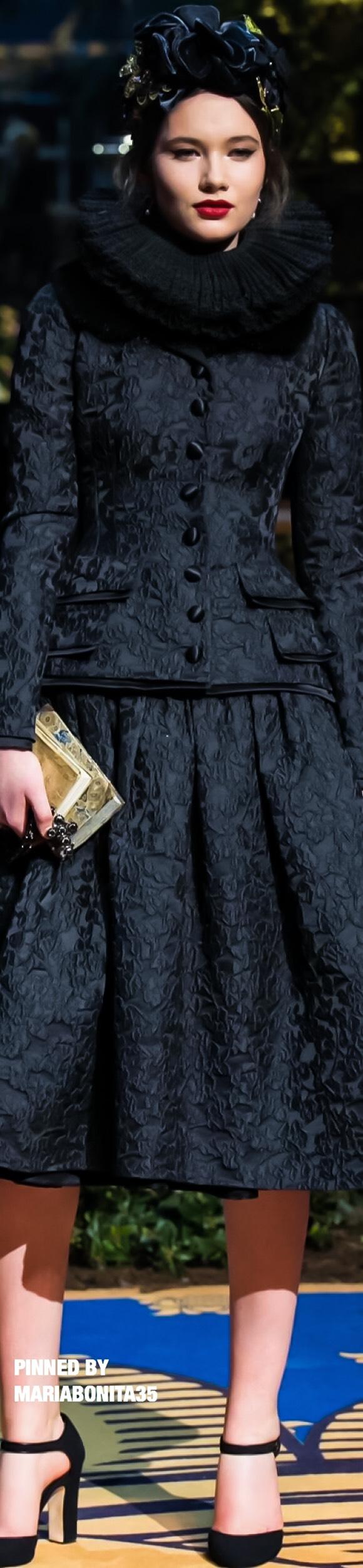 Dolce & Gabbana Haute Couture SS17