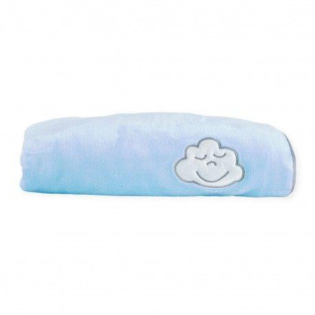 fdd3640e270 Un hiver au chaud avec notre couverture polaire bébé garçon bleue en  pilou-pilou