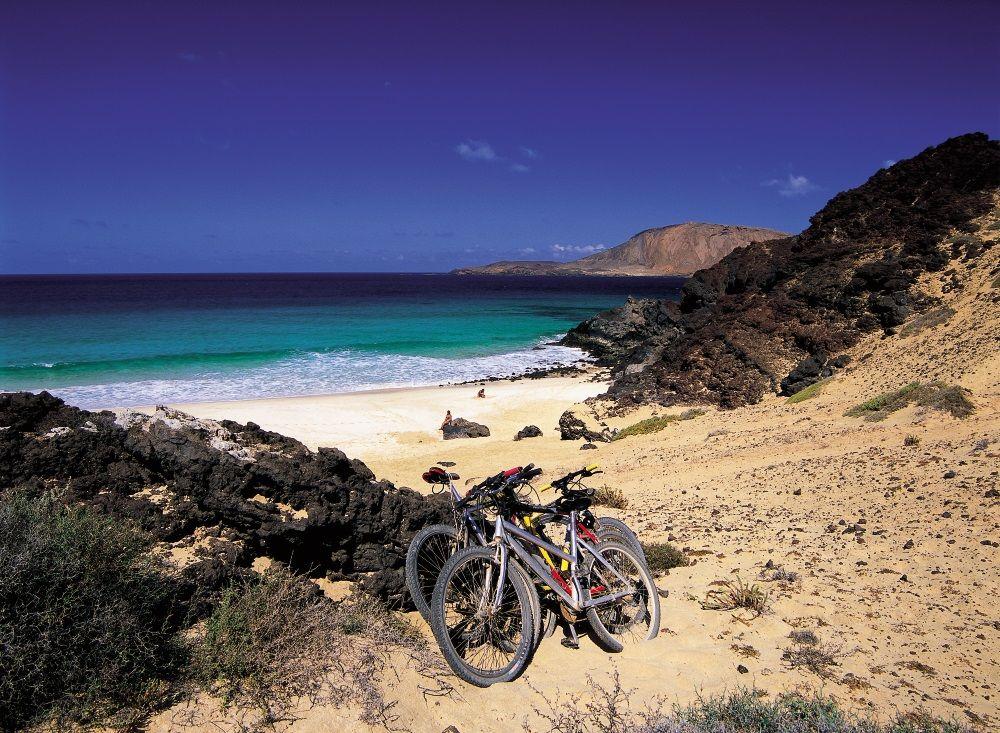 Playa de Las Conchas. Isla de La Graciosa
