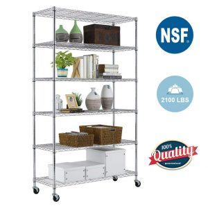 Top 10 Metal Shelving Unit In 2020 Shelving Unit Metal Shelving Units Steel Shelving