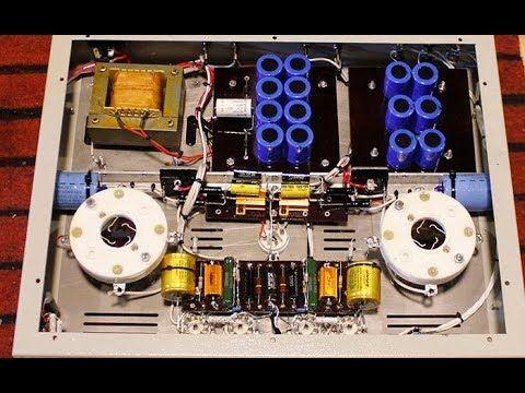 211 12AU7 12aT7 tube amp   Tube amp diy project trong 2019   Amp