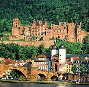 Heidelberg, Germany - stunning small city with a giant castle.