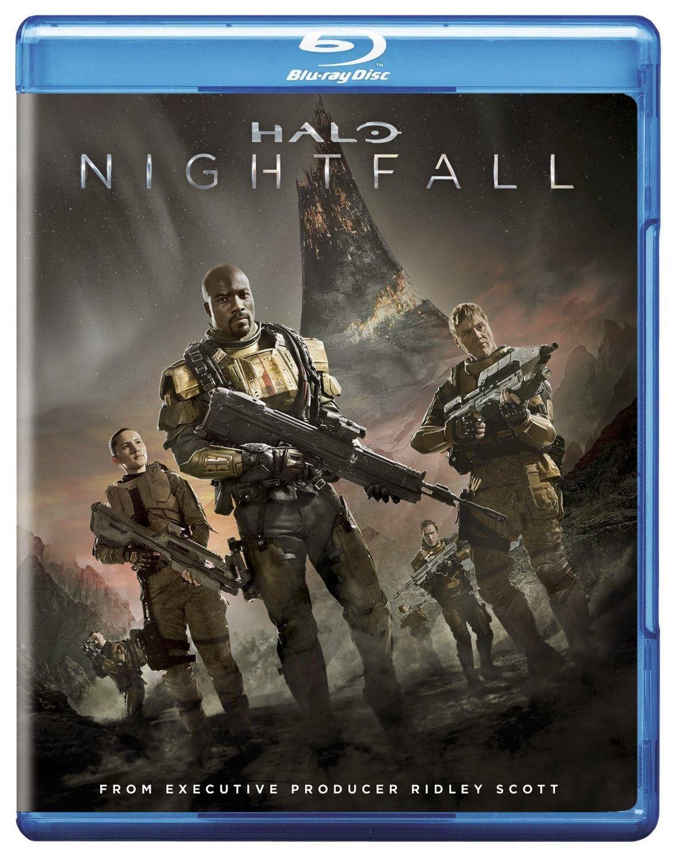 Dvd Blu Ray Halo Nightfall 2014 Halo Poster Halo New Movies