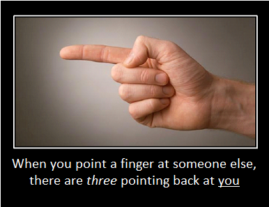 Image result for point finger other fingers point at you