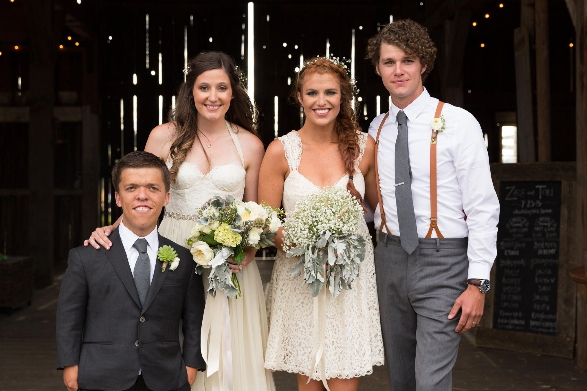 Terrific Little People Big World Zach And Toris Wedding Day Zach And Hairstyle Inspiration Daily Dogsangcom