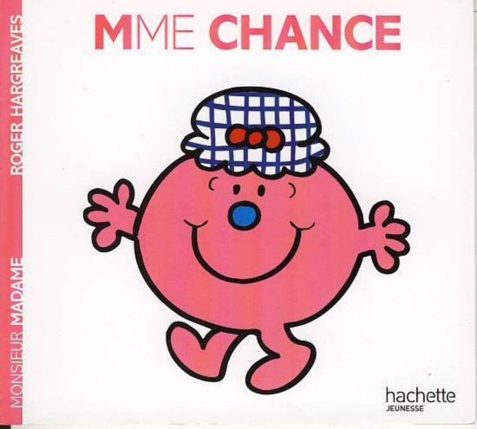 Livre Monsieur Madame Madame Chance Roger Hargreaves
