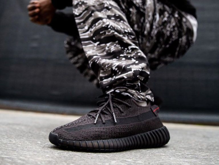 Adidas Yeezy Boost 350 V2 'Static Black Reflective'   Chaussure ...