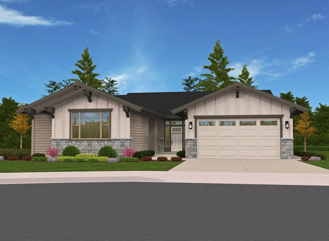 Multi-Generational One Story House Plan-Craftsman House ...