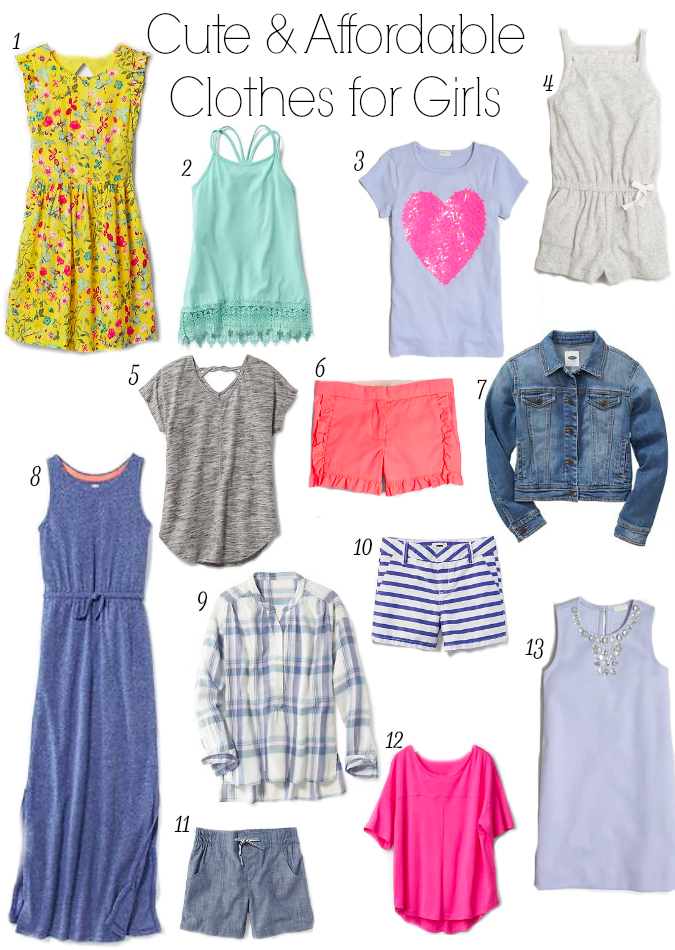 7d3d499a0 Cute and Affordable Clothes for Kids- everything your kids need for spring  and summer!