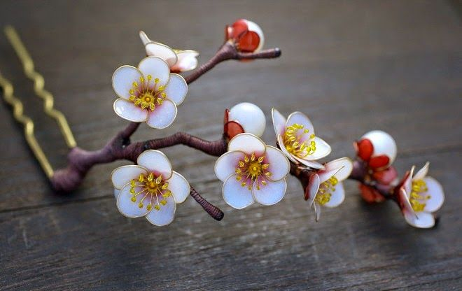 Amazingl Handcrafted Floral Ornaments Kanzashi By Sakae To Inspire You