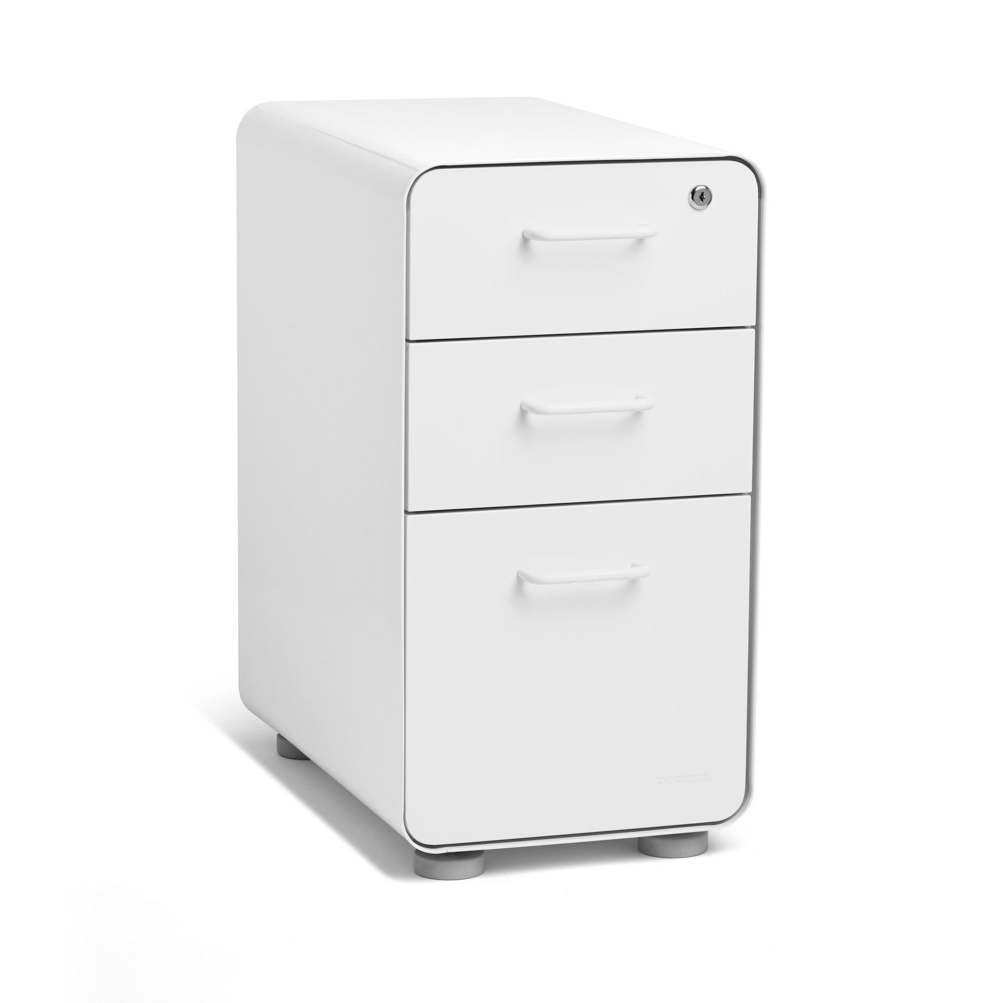 18-Inch Depth Gray Lorell 16873 2-Drawer Mobile File Cabinet