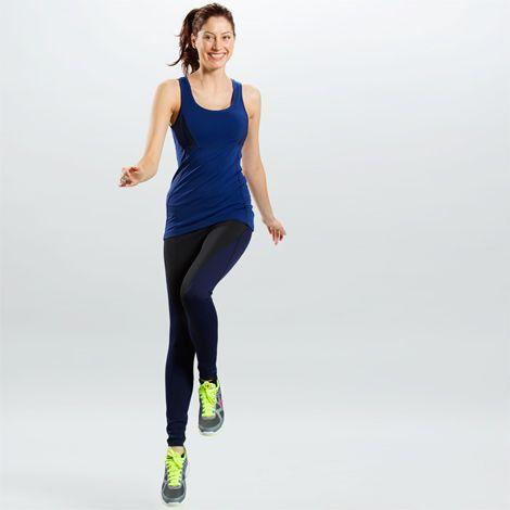 Legging Finalist blau-schwarz | lolё
