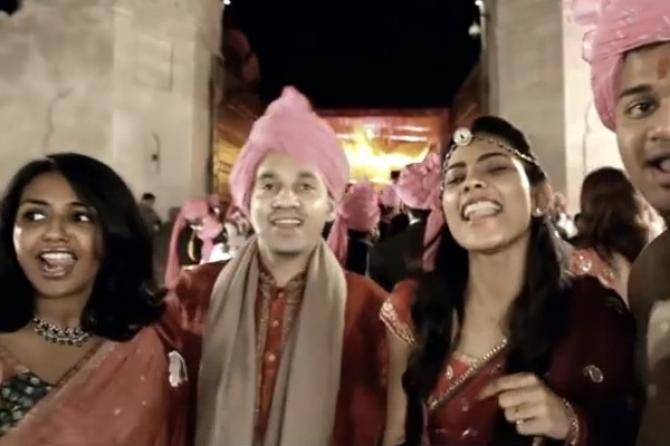 Move Over Cheap Thrills This Lip Dub Wedding Dance Video Of Radha On The Floor Is Awesome