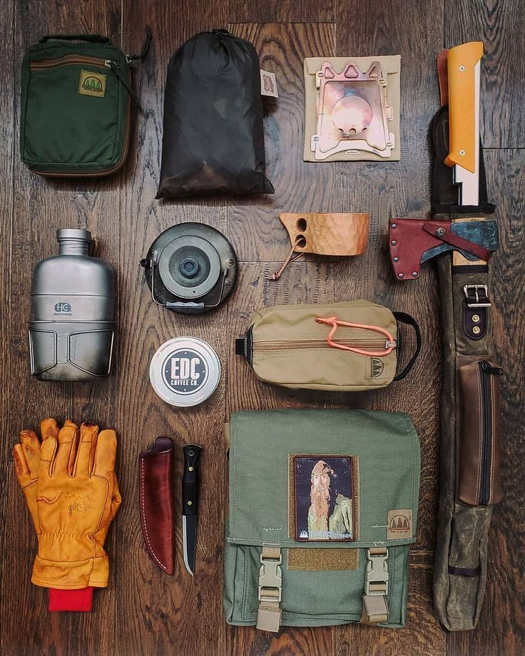 TheHiddenWoodsmen.com Whats in your Camping kit? 🌲🌲🌲@uncle ...