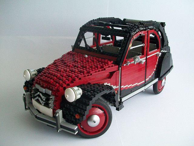 2cv charleston lego