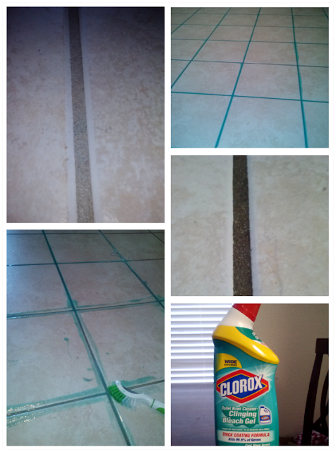 Awesome cheap grout cleaner