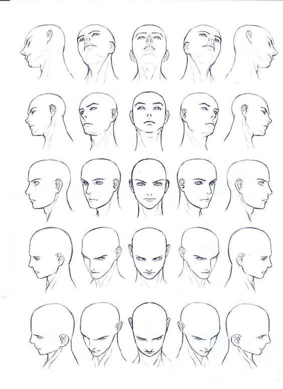 남녀얼굴 그리기 인체그리기 drawing face body digital
