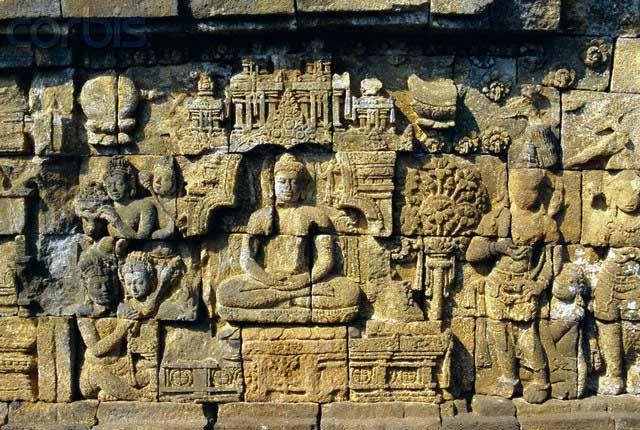Borobudur relief