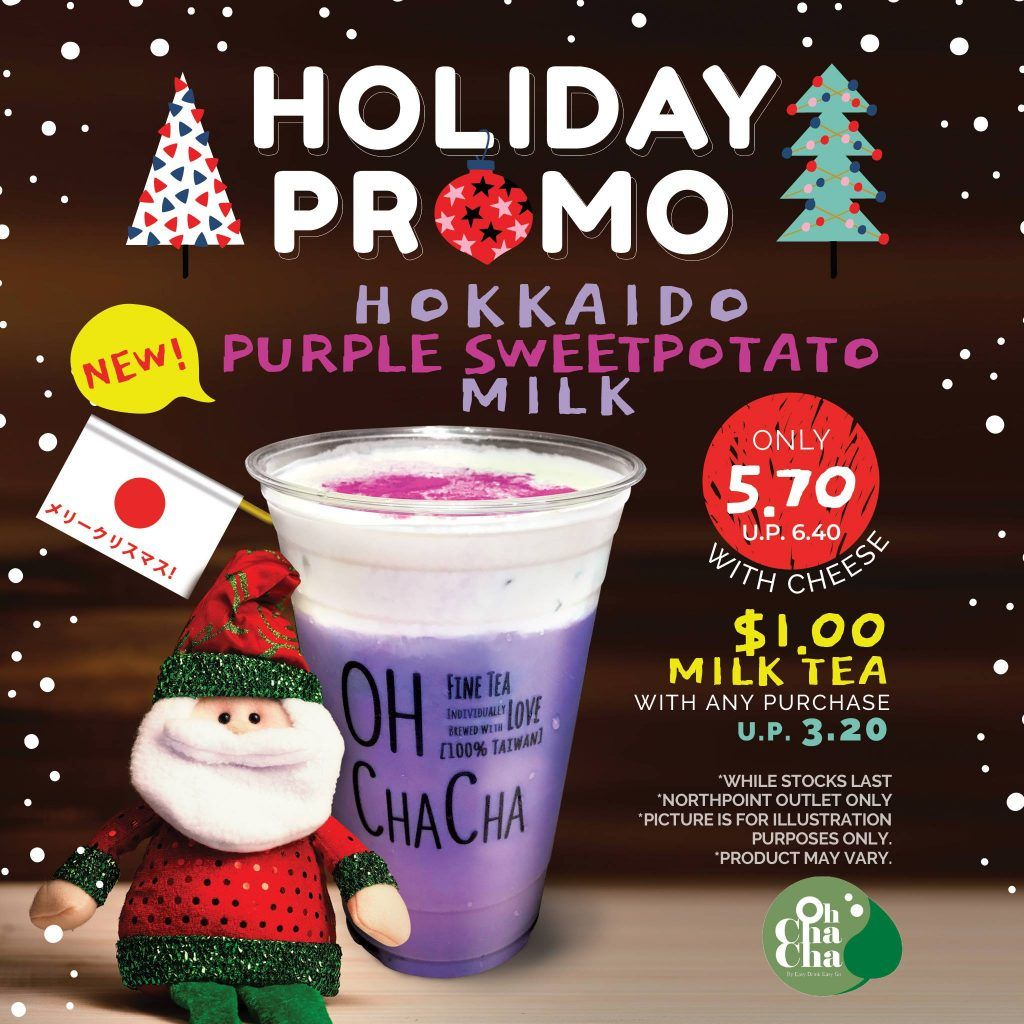 Oh Cha Cha Singapore Celebrate Christmas New Year For Just 1 Promotion While Stocks Last Christmas Celebrations Christmas And New Year Christmas