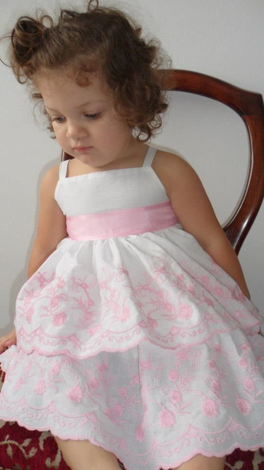 45680e666 Vestido Beba Nena Bautismo
