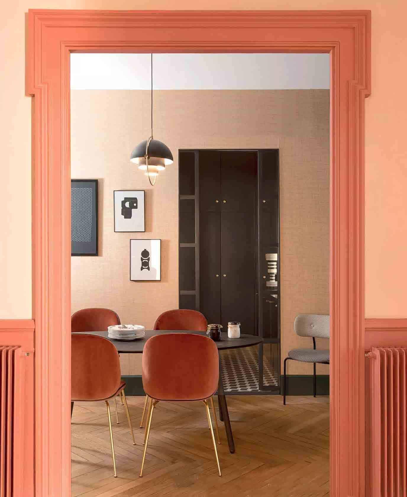 Peach: The New Blush?   Interior Design UK Inspiration in ...