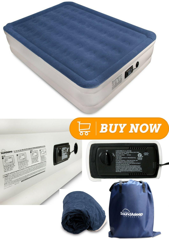 Soundasleep Dream Series Air Mattress With Comfortcoil Technology Internal High Capacity Pump Air Mattress Mattress Dream